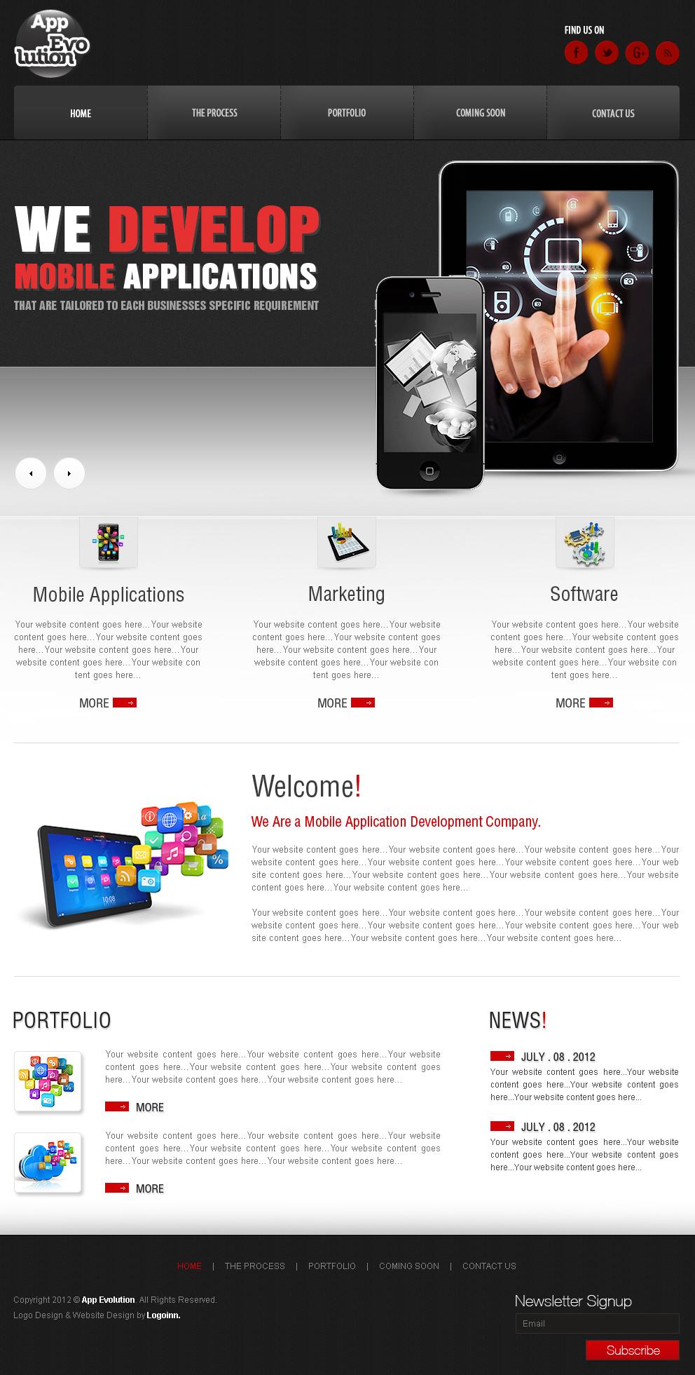 Cheap Custom Professional Website Design Service - $99