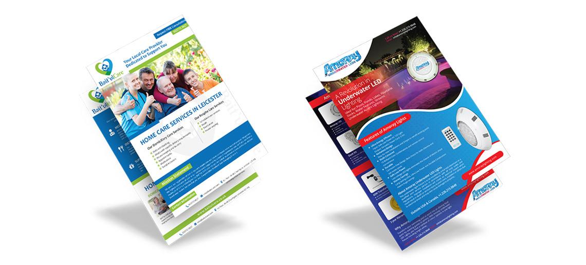Custom Professional Brochure Design Service USA